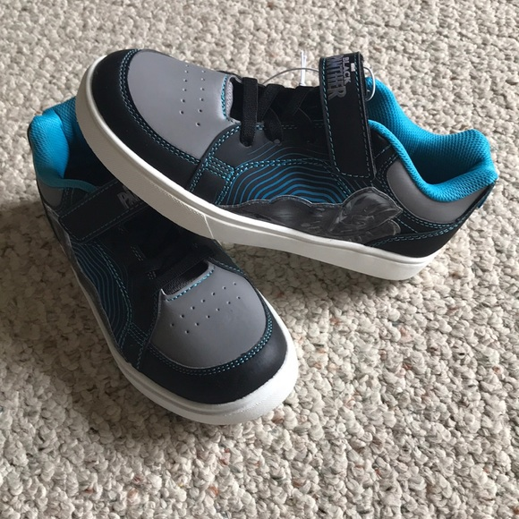 Marvel Shoes | Nwt Boys Black Panther